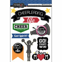 Scrapbook Customs - Cheer Life Collection - Doo Dads - Stickers