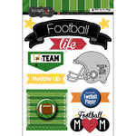 Scrapbook Customs - Football Life Collection - Doo Dads - Stickers