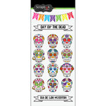 Scrapbook Customs - Day of the Dead Collection - Stickers - Sugar Skulls