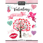 Scrapbook Customs - Valentines Collection - Cardstock Stickers - February Memories