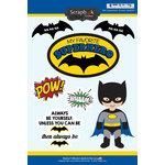 Scrapbook Customs - Inspired By Collection - Cardstock Stickers - Bat Superhero