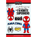Scrapbook Customs - Inspired By Collection - Cardstock Stickers - Spider Superhero