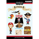 Scrapbook Customs - Inspired By Collection - Cardstock Stickers - Pirates