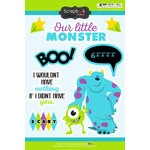 Scrapbook Customs - Inspired By Collection - Cardstock Stickers - Monster