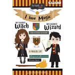 Scrapbook Customs - Wizarding World Collection - Cardstock Stickers