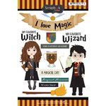 Scrapbook Customs - Wizarding World Collection - Cardstock Stickers