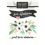 Scrapbook Customs - Cardstock Stickers - Mini Craft - Alabama Love