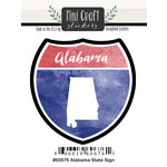 Scrapbook Customs - Cardstock Stickers - Mini Craft - Alabama Sign