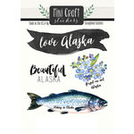 Scrapbook Customs - Cardstock Stickers - Mini Craft - Alaska Love