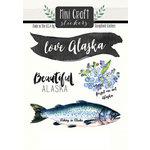 Scrapbook Customs - Cardstock Stickers - Mini Craft - Alaska Love