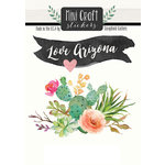 Scrapbook Customs - Cardstock Stickers - Mini Craft - Arizona Love