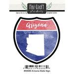 Scrapbook Customs - Cardstock Stickers - Mini Craft - Arizona Sign