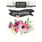 Scrapbook Customs - Cardstock Stickers - Mini Craft - Arkansas Love