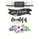 Scrapbook Customs - Cardstock Stickers - Mini Craft - Colorado Love