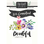 Scrapbook Customs - Cardstock Stickers - Mini Craft - Connecticut Love