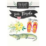 Scrapbook Customs - Cardstock Stickers - Mini Craft - Florida Love