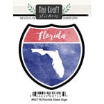 Scrapbook Customs - Cardstock Stickers - Mini Craft - Florida Sign