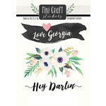 Scrapbook Customs - Cardstock Stickers - Mini Craft - Georgia Love
