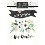 Scrapbook Customs - Cardstock Stickers - Mini Craft - Georgia Love