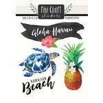 Scrapbook Customs - Cardstock Stickers - Mini Craft - Hawaii Love