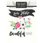 Scrapbook Customs - Cardstock Stickers - Mini Craft - Idaho Love