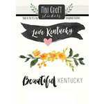 Scrapbook Customs - Cardstock Stickers - Mini Craft - Kentucky Love