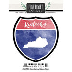 Scrapbook Customs - Cardstock Stickers - Mini Craft - Kentucky Sign