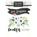 Scrapbook Customs - Cardstock Stickers - Mini Craft - Louisiana Love