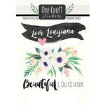 Scrapbook Customs - Cardstock Stickers - Mini Craft - Louisiana Love