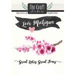 Scrapbook Customs - Cardstock Stickers - Mini Craft - Michigan Love