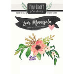 Scrapbook Customs - Cardstock Stickers - Mini Craft - Minnesota Love