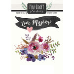 Scrapbook Customs - Cardstock Stickers - Mini Craft - Missouri Love
