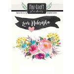 Scrapbook Customs - Cardstock Stickers - Mini Craft - Nebraska Love