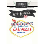 Scrapbook Customs - Cardstock Stickers - Mini Craft - Nevada Love