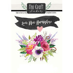 Scrapbook Customs - Cardstock Stickers - Mini Craft - New Hampshire Love