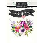 Scrapbook Customs - Cardstock Stickers - Mini Craft - New Hampshire Love