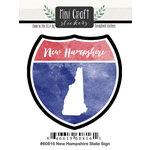 Scrapbook Customs - Cardstock Stickers - Mini Craft - New Hampshire Sign