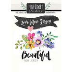 Scrapbook Customs - Cardstock Stickers - Mini Craft - New Jersey Love
