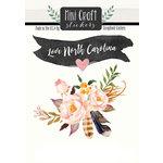 Scrapbook Customs - Cardstock Stickers - Mini Craft - North Carolina Love