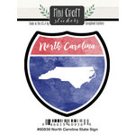 Scrapbook Customs - Cardstock Stickers - Mini Craft - North Carolina Sign