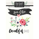 Scrapbook Customs - Cardstock Stickers - Mini Craft - Ohio Love