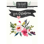 Scrapbook Customs - Cardstock Stickers - Mini Craft - Oklahoma Love