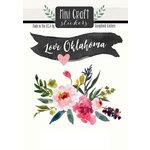 Scrapbook Customs - Cardstock Stickers - Mini Craft - Oklahoma Love