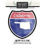 Scrapbook Customs - Cardstock Stickers - Mini Craft - Oklahoma Sign