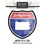 Scrapbook Customs - Cardstock Stickers - Mini Craft - Pennsylvania Sign