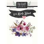 Scrapbook Customs - Cardstock Stickers - Mini Craft - Rhode Island Love