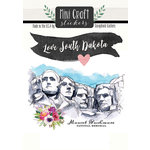 Scrapbook Customs - Cardstock Stickers - Mini Craft - South Dakota Love