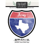 Scrapbook Customs - Cardstock Stickers - Mini Craft - Texas Sign