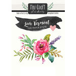Scrapbook Customs - Cardstock Stickers - Mini Craft - Vermont Love