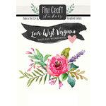 Scrapbook Customs - Cardstock Stickers - Mini Craft - West Virginia Love